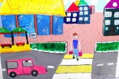 конкурс рисунков на тему дорожной безопасности (13)