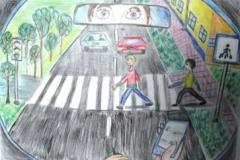 конкурс рисунков на тему дорожной безопасности (17)