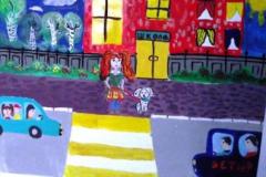 конкурс рисунков на тему дорожной безопасности (20)