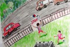 конкурс рисунков на тему дорожной безопасности (24)