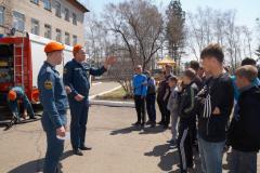Велопробег, посвященный Дню Великой Победы и 369-ой годовщине пожарной охраны России 05