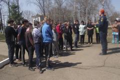 Велопробег, посвященный Дню Великой Победы и 369-ой годовщине пожарной охраны России 26