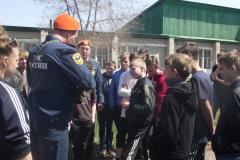 Велопробег, посвященный Дню Великой Победы и 369-ой годовщине пожарной охраны России 27