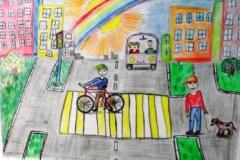конкурс рисунков на тему дорожной безопасности (21)