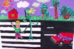 конкурс рисунков на тему дорожной безопасности (22)